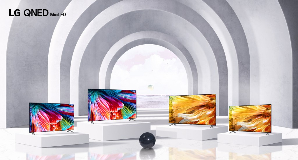 LG QNED Mini LED TV Lineup